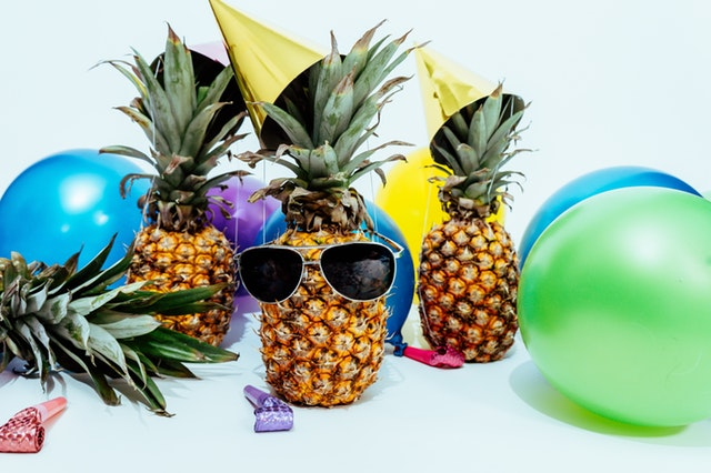 Ananas fêtards